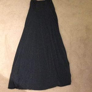 Athleta long stretchy dress/skirt size M